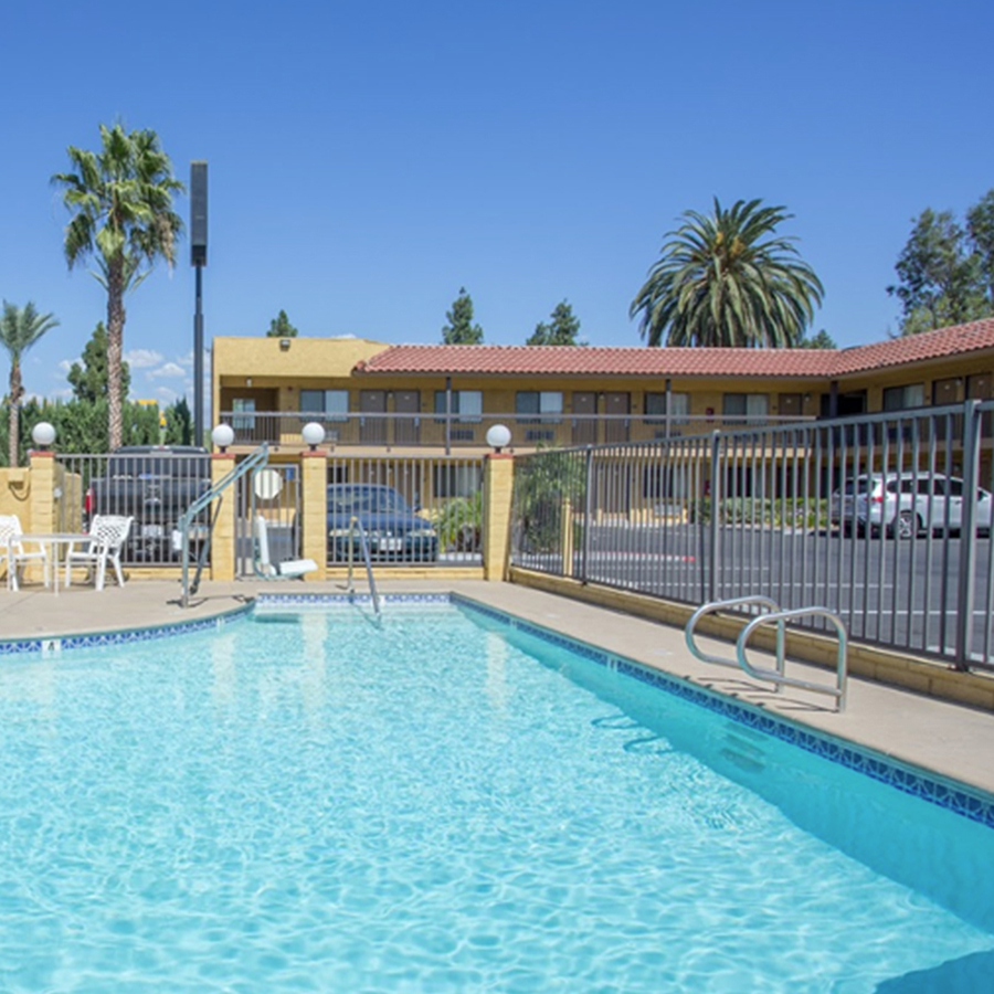 TAKE A DIP IN OUR OUTDOOR POOL