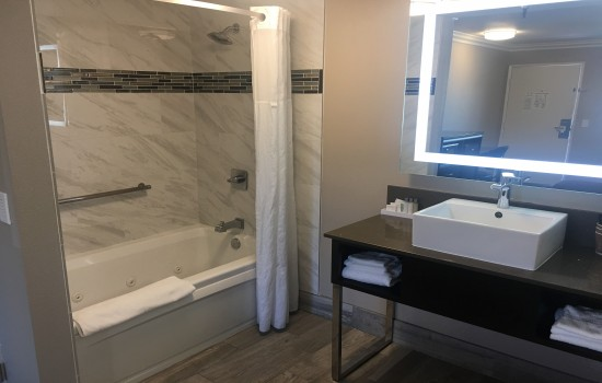 Welcome to Hotel Seville - King Room - Bathroom