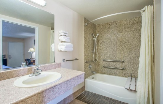 Welcome to Hotel Seville - Accessible Private Bathroom